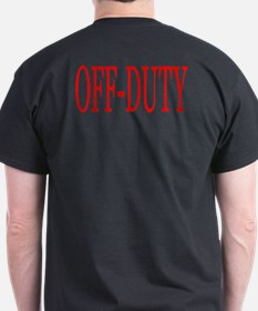 Off-Duty (Red) T-Shirt