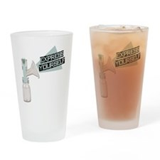 Express Yourself Breastfeedin Pint Glass