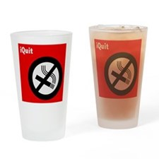 iQuit Smoking Pint Glass