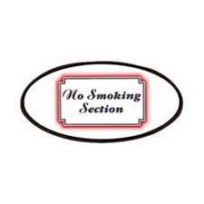 No Smoking Section Patches