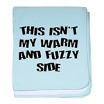 Warm And Fuzzy (Not) baby blanket