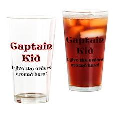 Captain Kid Pirate Pint Glass