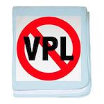 Ban VPL (Visible Panty Line) baby blanket