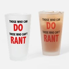 Those Who Can, Do Pint Glass
