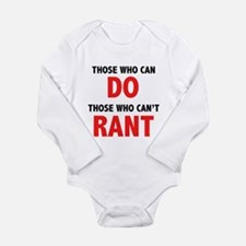 Those Who Can, Do Long Sleeve Infant Bodysuit