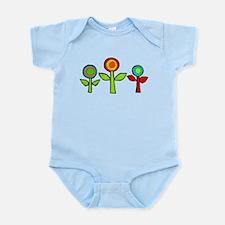 Paper Flowers Infant Bodysuit