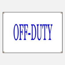 Off-Duty (Blue) Banner