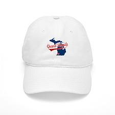 Grand Rapids, where the heart Baseball Cap