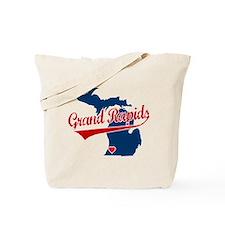 Grand Rapids, where the heart Tote Bag