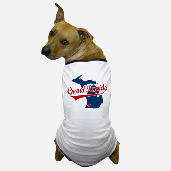 Grand Rapids, where the heart Dog T-Shirt