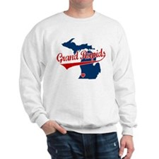 Grand Rapids, where the heart Sweatshirt