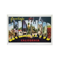 Hollywood Rectangle Magnet