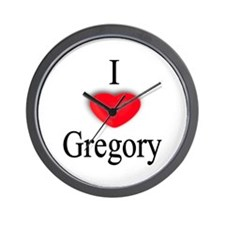 Gregory Wall Clock