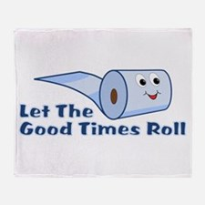 Let The Good Times Roll Throw Blanket