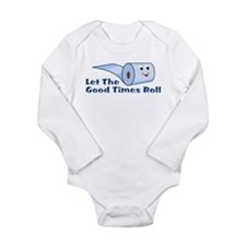 Let The Good Times Roll Long Sleeve Infant Bodysui