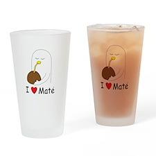 I love mate Pint Glass