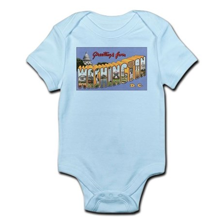 Washington D.C. Infant Creeper