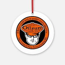 Oilzum Motor Oil Ornament (Round)