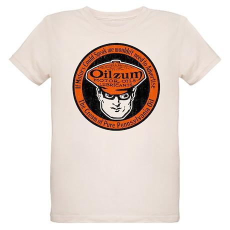 Oilzum Motor Oil Organic Kids T Shirt Oilzum Motor Oil T