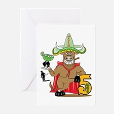 Cinco de Mayo Matador Greeting Cards (Pk of 10