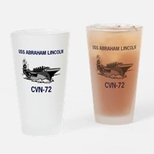 USS ABRAHAM LINCOLN Pint Glass
