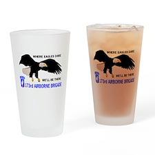 173rd AIRBORNE Pint Glass