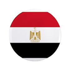 "Egyptian National Flag 3.5"" Button"