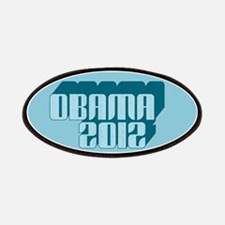 Blue Obama 3D 2012 Patches