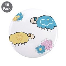 """Lullaby 3.5"""" Button (10 pack)"""