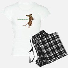 """Smarty Mouse """"I like you bett Pajamas"""
