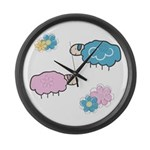 Lullaby Large Wall Clock