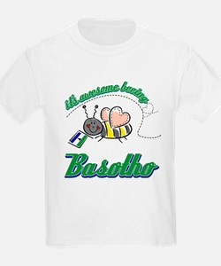 Awesome Being Lesotho T-Shirt