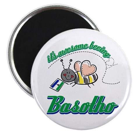 "Awesome Being Lesotho 2.25"" Magnet (100 pack)"