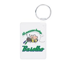 Awesome Being Lesotho Keychains
