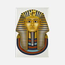 King Tut's Golden Mask Rectangle Magnet