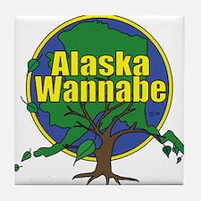 Alaska Wannabe Tile Coaster