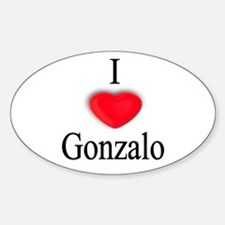 Gonzalo Oval Decal