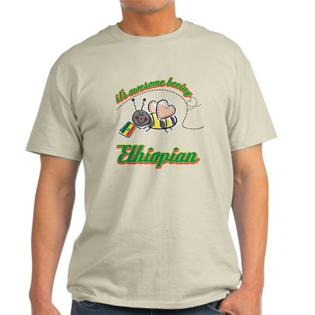 Awesome Being Ethiopian Light T-Shirt