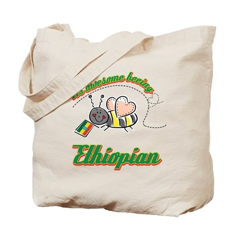 Awesome Being Ethiopian Tote Bag