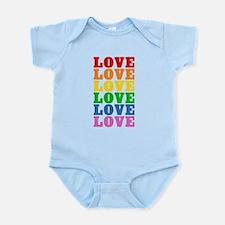 Rainbow Love Infant Bodysuit