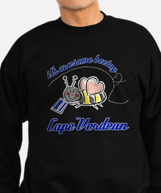 Awesome Being Cape Verdean Sweatshirt (dark)