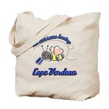 Awesome Being Cape Verdean Tote Bag