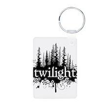 Cute Twilight Aluminum Photo Keychain