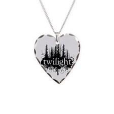 Unique Twilightforever Necklace Heart Charm