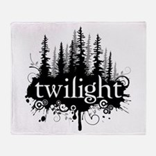 Cute Jacob black twilight werewolf Throw Blanket