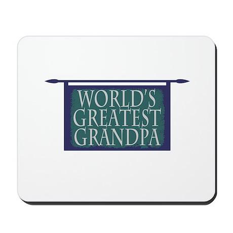 World's Greatest Grandpa Mousepad