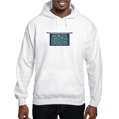 World's Greatest Grandpa Hooded Sweatshirt