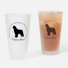 Devoted Companion - Black New Pint Glass