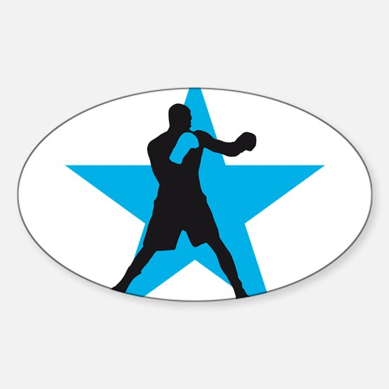 Funny Fight club Sticker (Oval)
