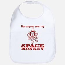 Space Monkey Bib